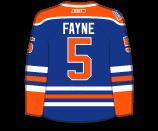 Mark Fayne's Jersey