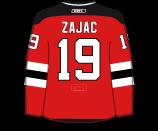 Travis Zajac's Jersey
