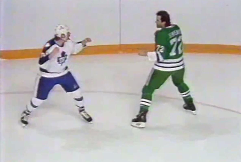 Dave Semenko vs Terry Johnson