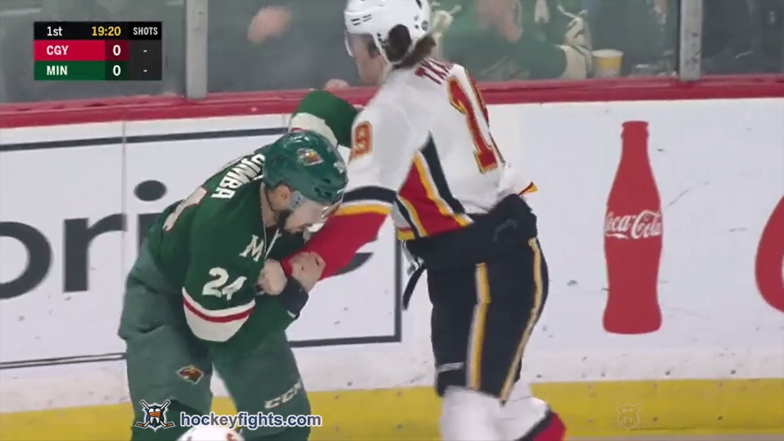 Mathew Dumba vs. Matthew Tkachuk