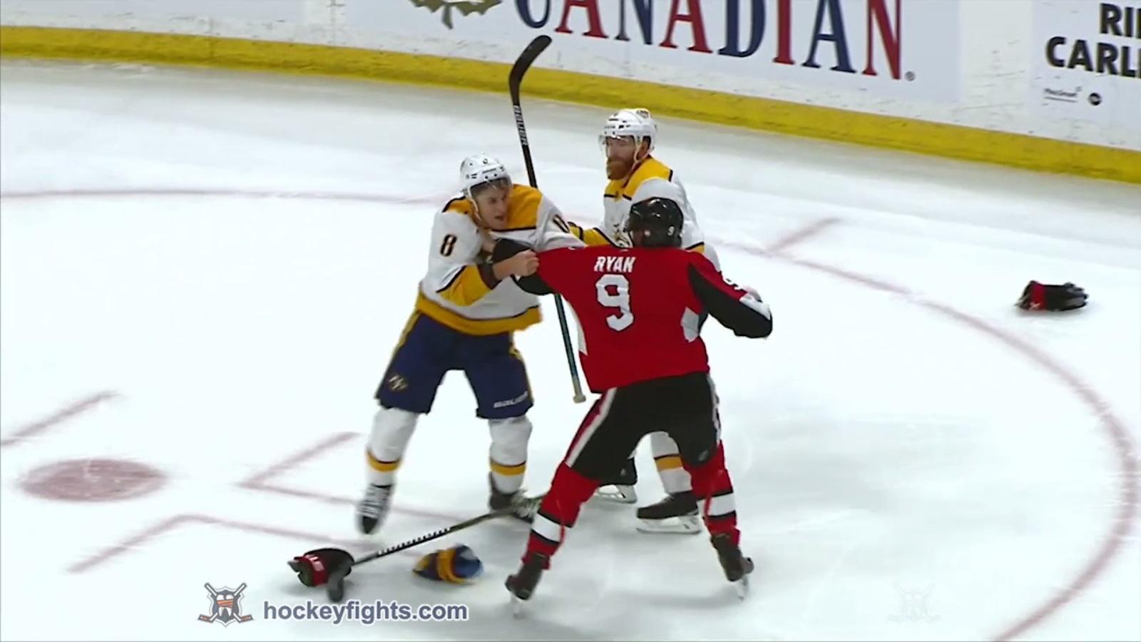 Bobby Ryan vs. Kyle Turris