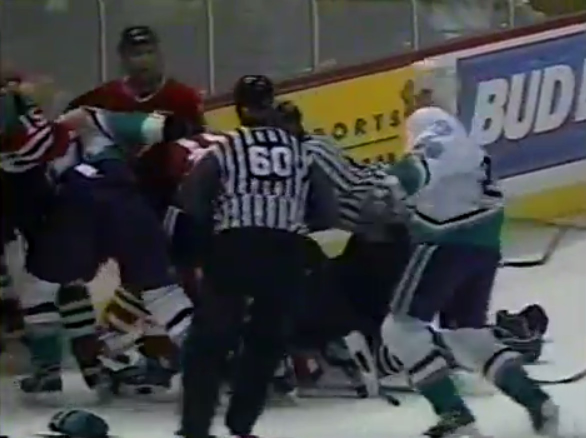 Kevin Sawyer vs. Bob Probert
