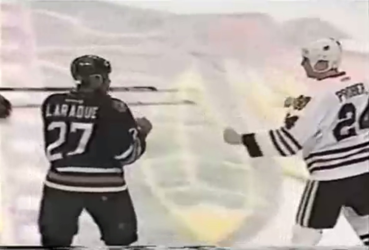 Bob Probert vs. Georges Laraque