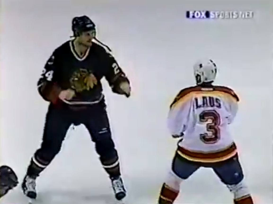Paul Laus vs. Bob Probert