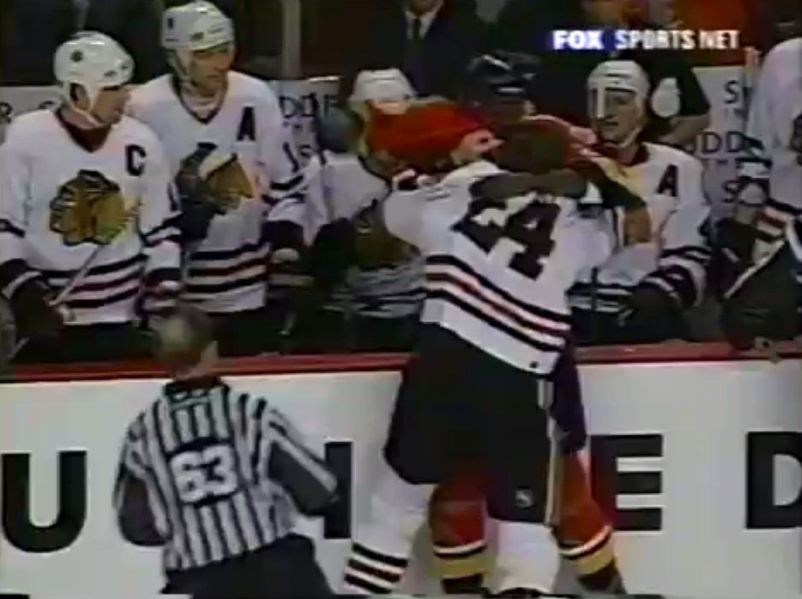 Bob Probert vs. Peter Worrell