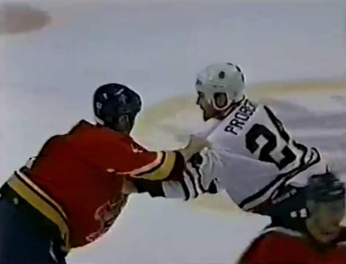 Bob Probert vs. Brad Norton