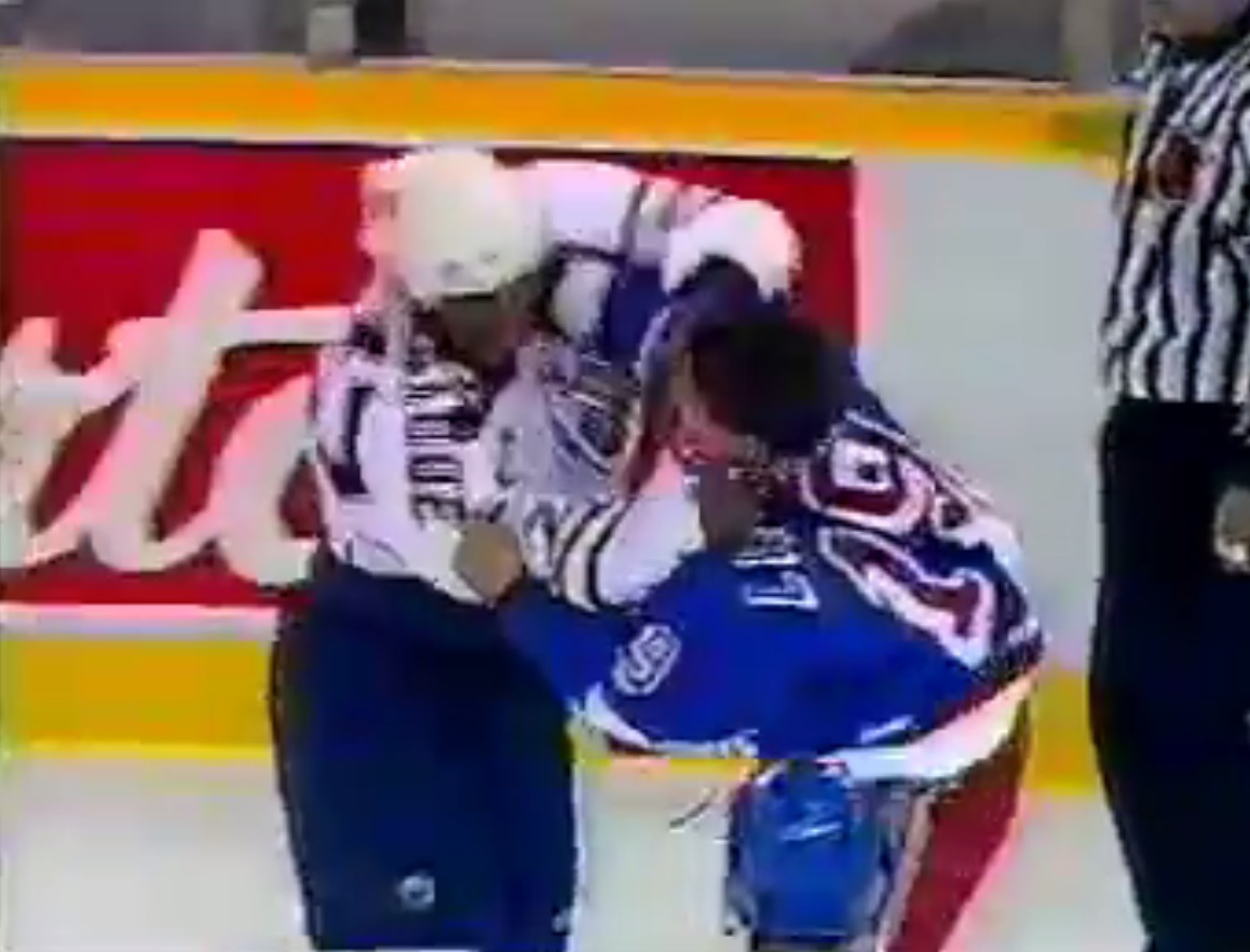 Georges Laraque vs. Darren Langdon
