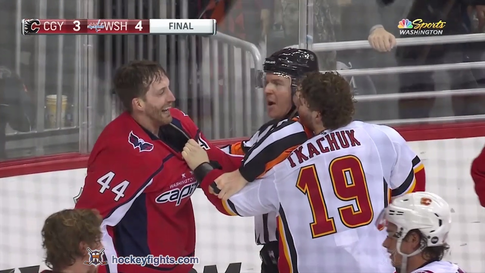 Brooks Orpik vs. Matthew Tkachuk
