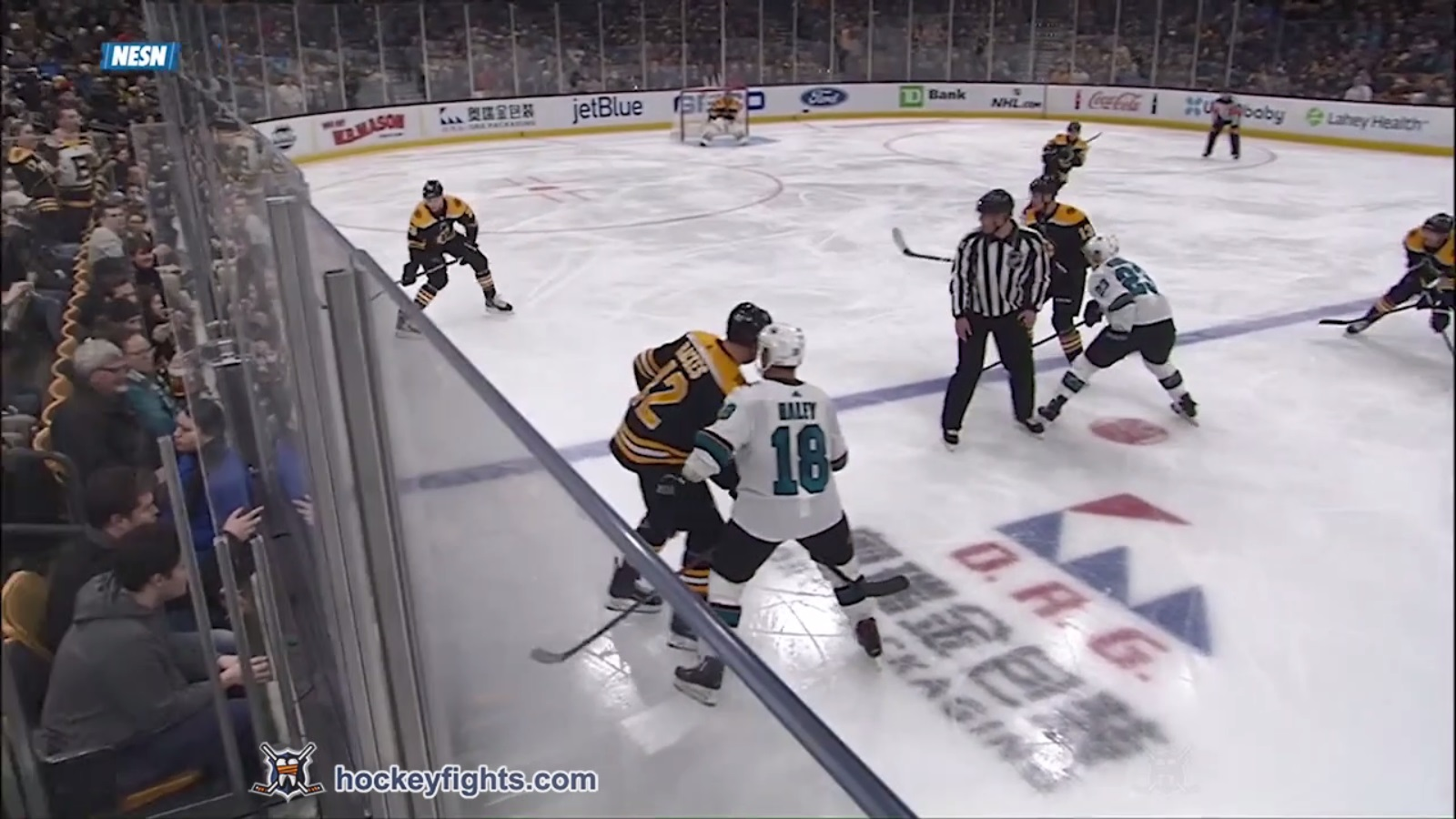 David Backes vs. Micheal Haley