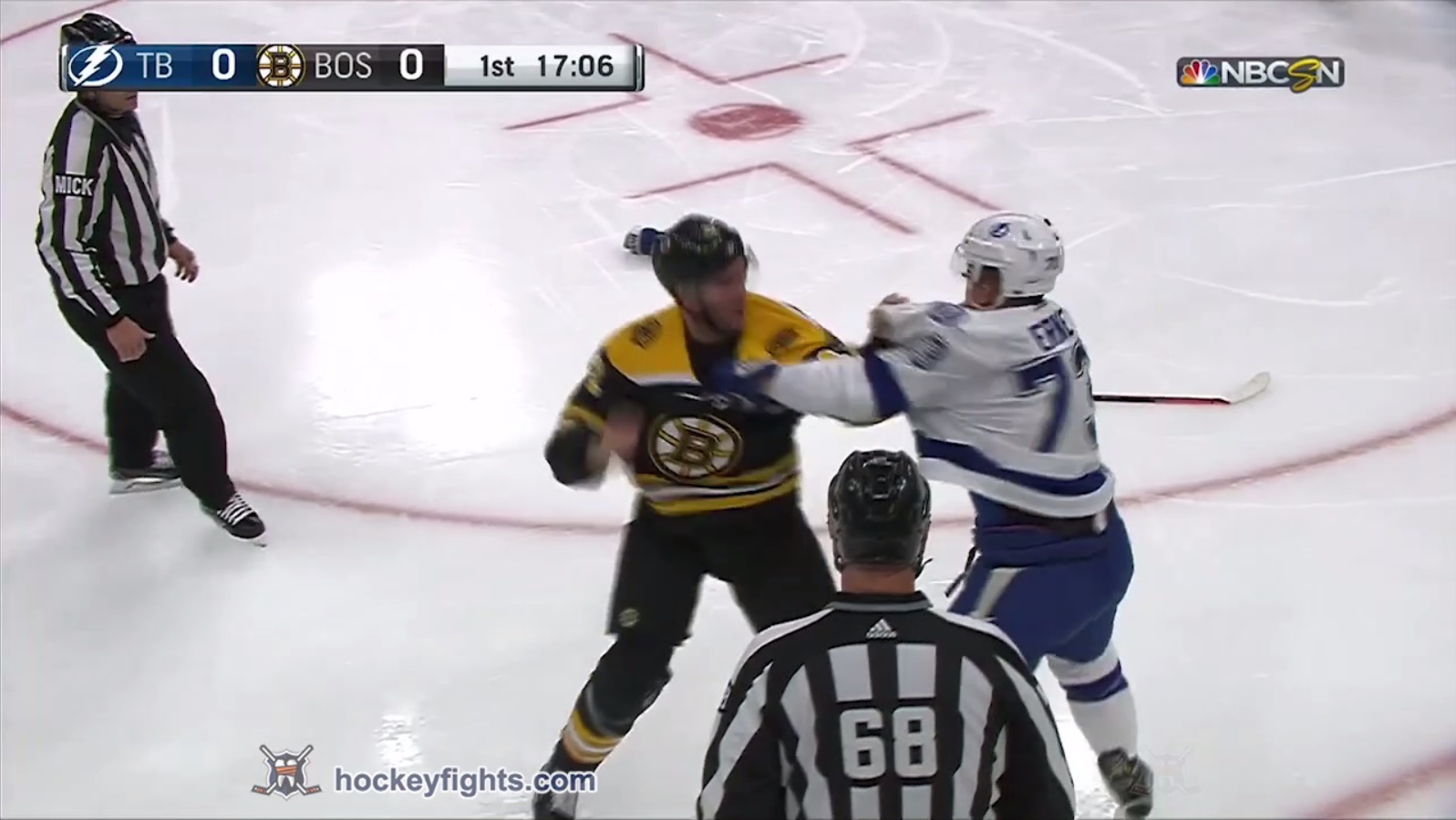 David Backes vs. Adam Erne