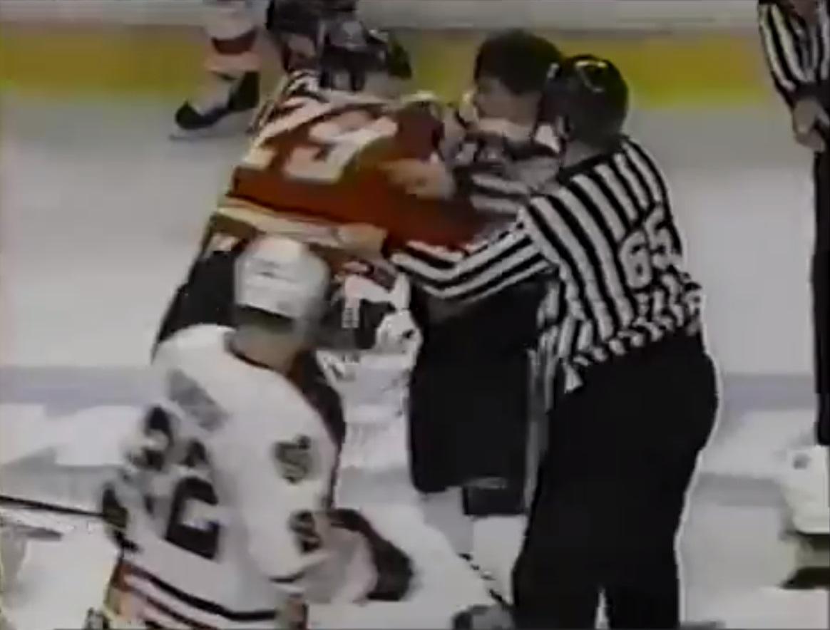 Bob Probert vs. Wade Belak
