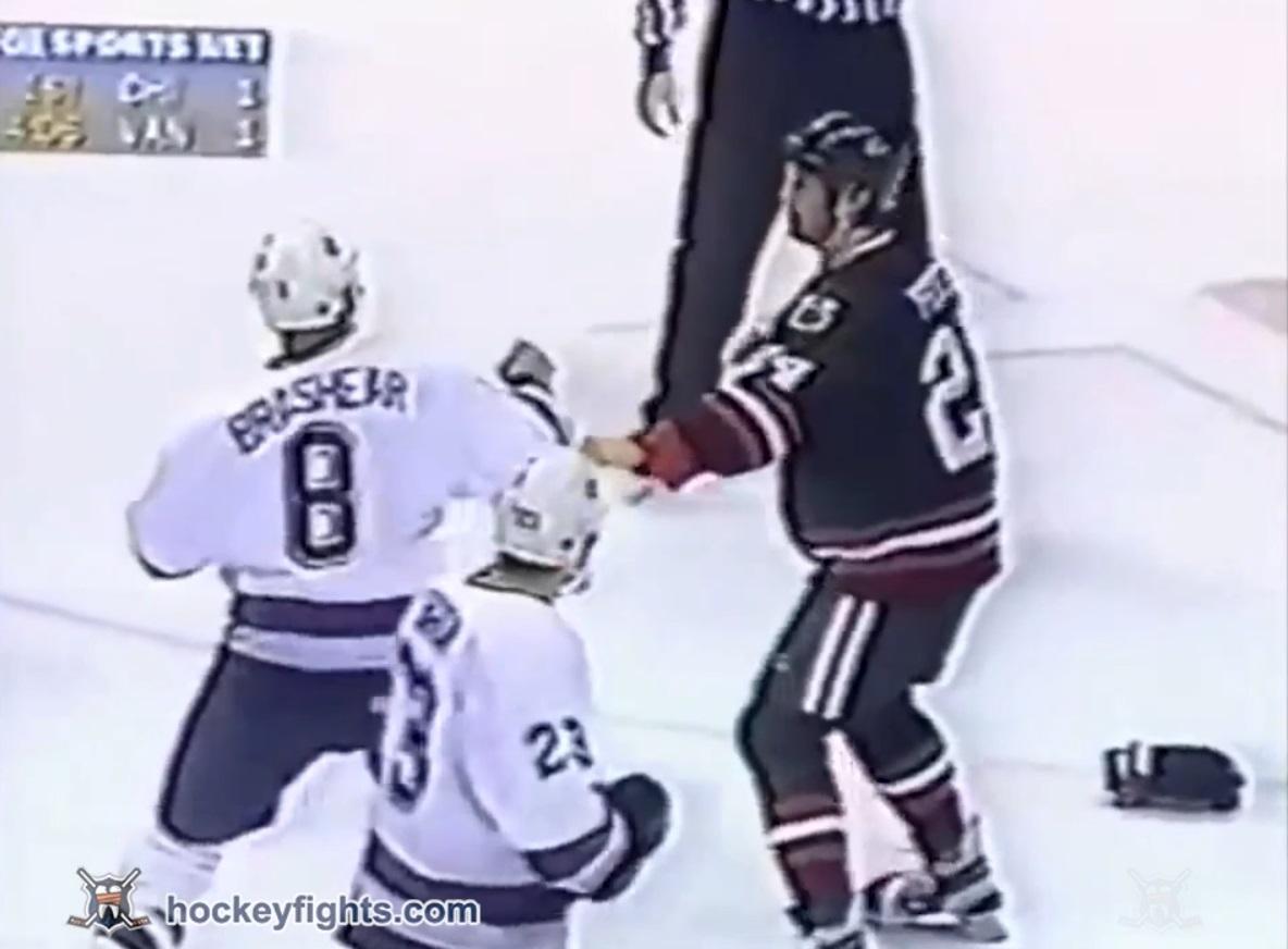 Bob Probert vs Donald Brashear
