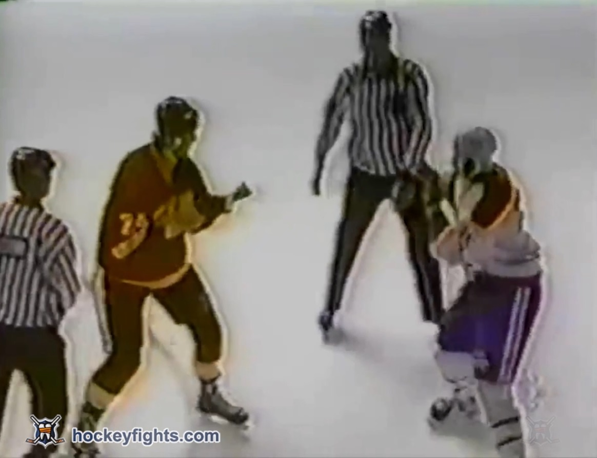 Donald Brashear vs. Bob Probert