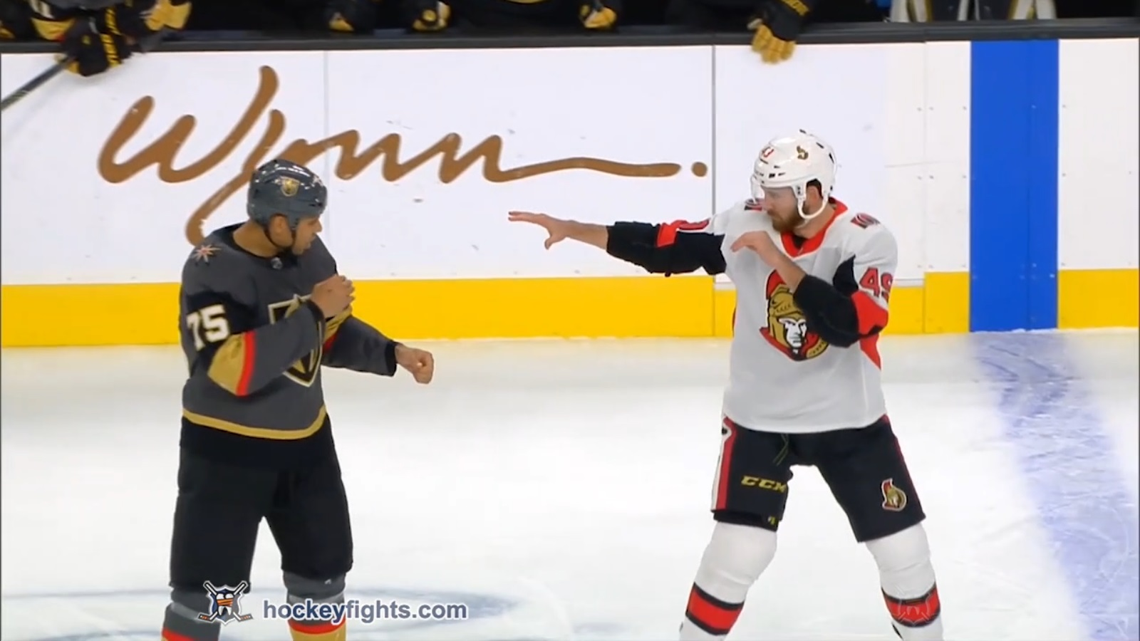 Ryan Reaves vs. Scott Sabourin