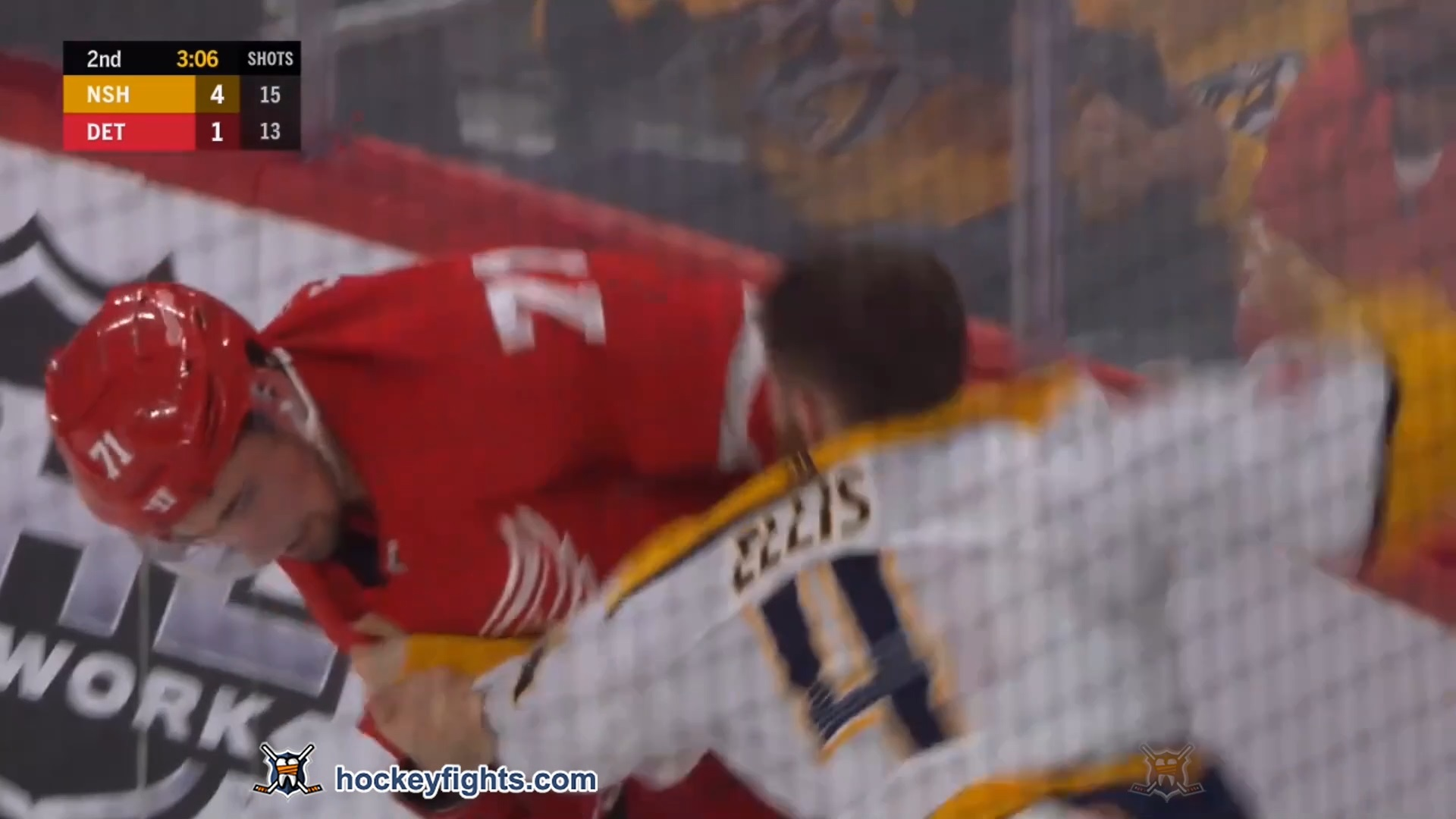 Dylan Larkin vs. Ryan Ellis