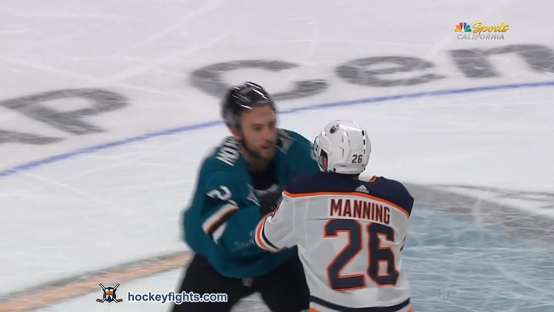 Barclay Goodrow vs. Brandon Manning
