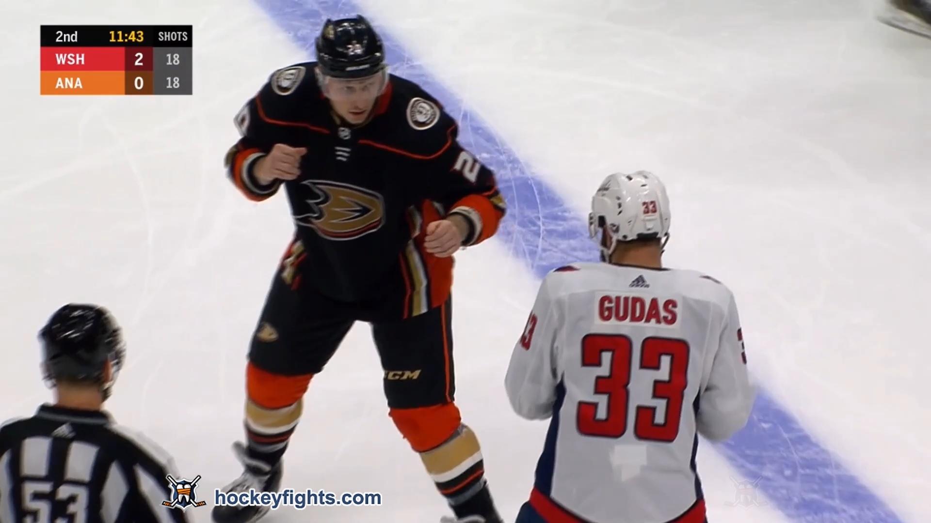 Nicolas Deslauriers vs. Radko Gudas