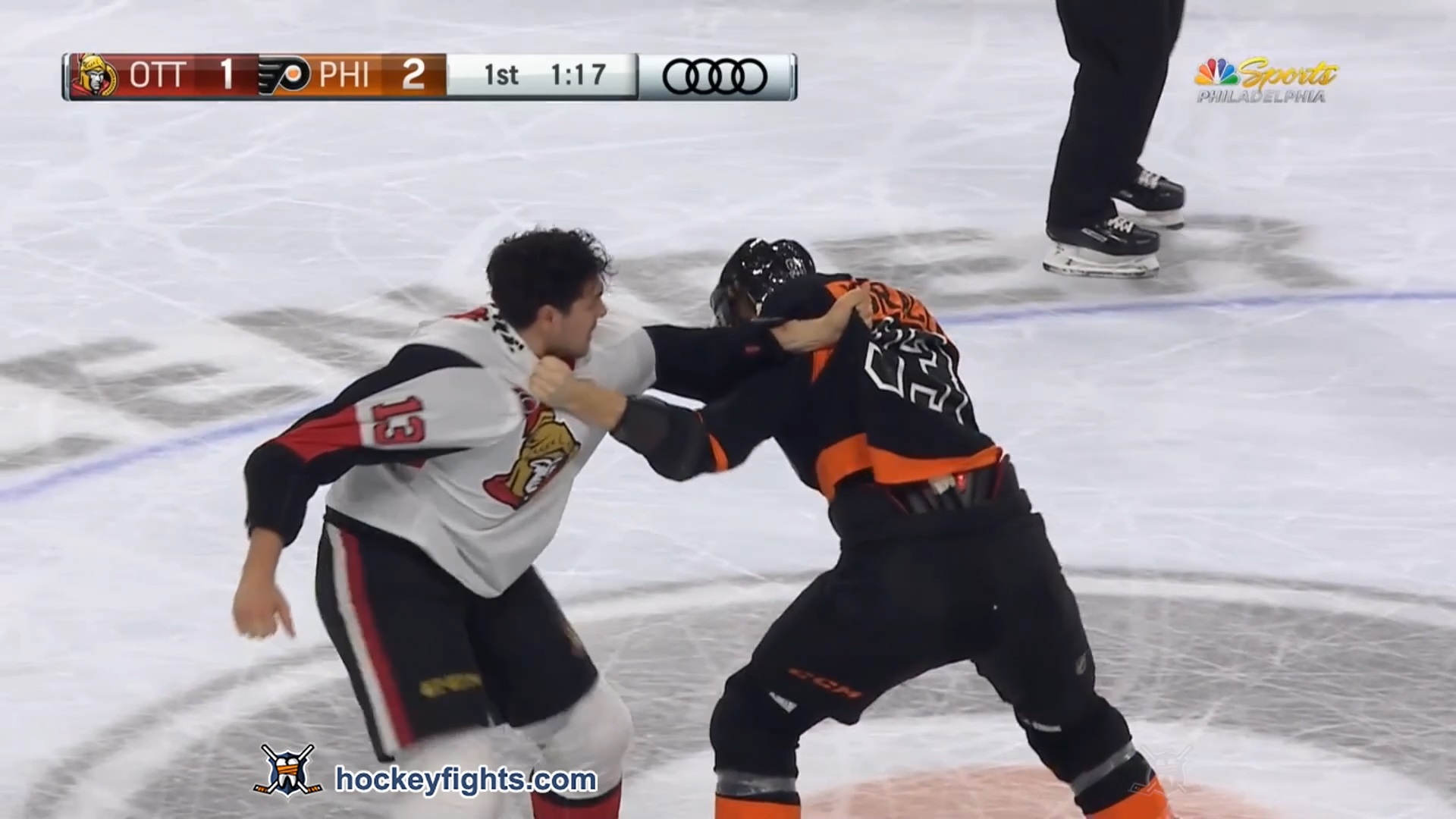 Jakub Voracek vs. Nick Paul