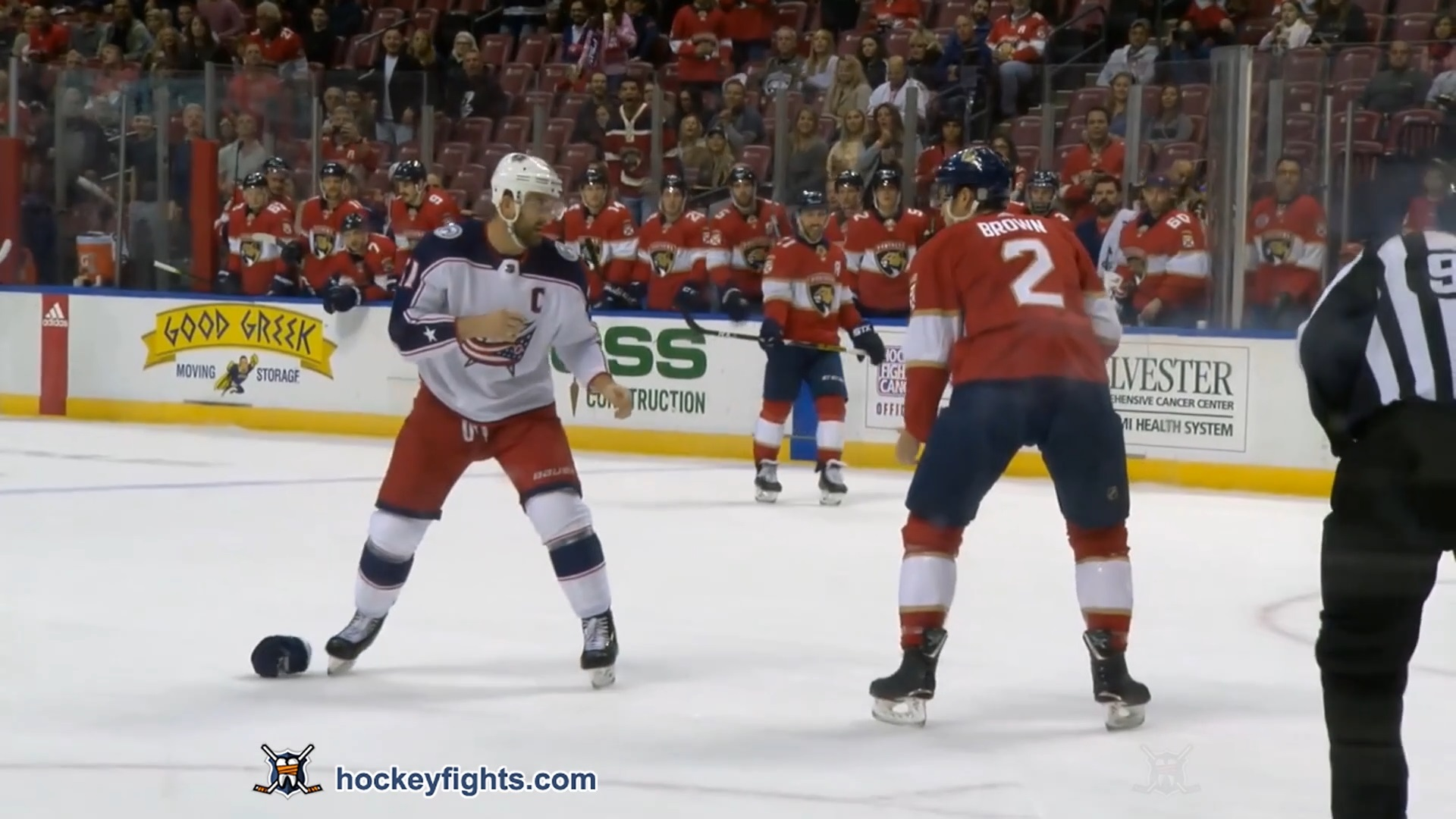 Josh Brown vs. Nick Foligno