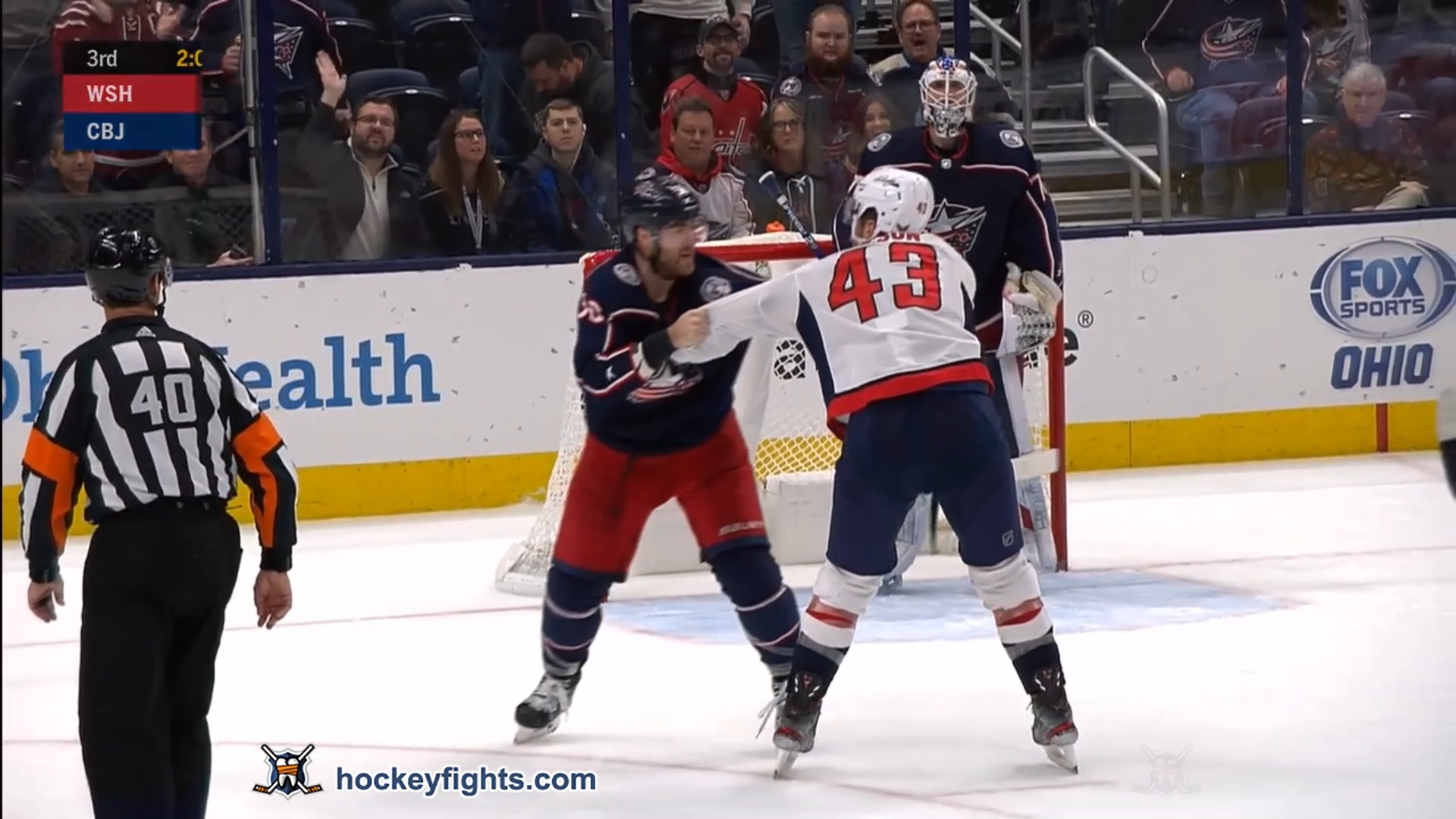 David Savard vs. Tom Wilson