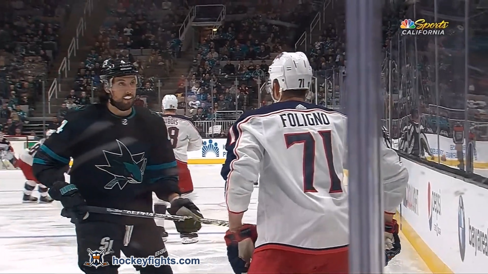 Brenden Dillon vs. Nick Foligno