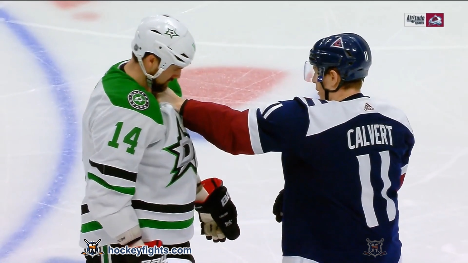 Matt Calvert vs. Jamie Benn