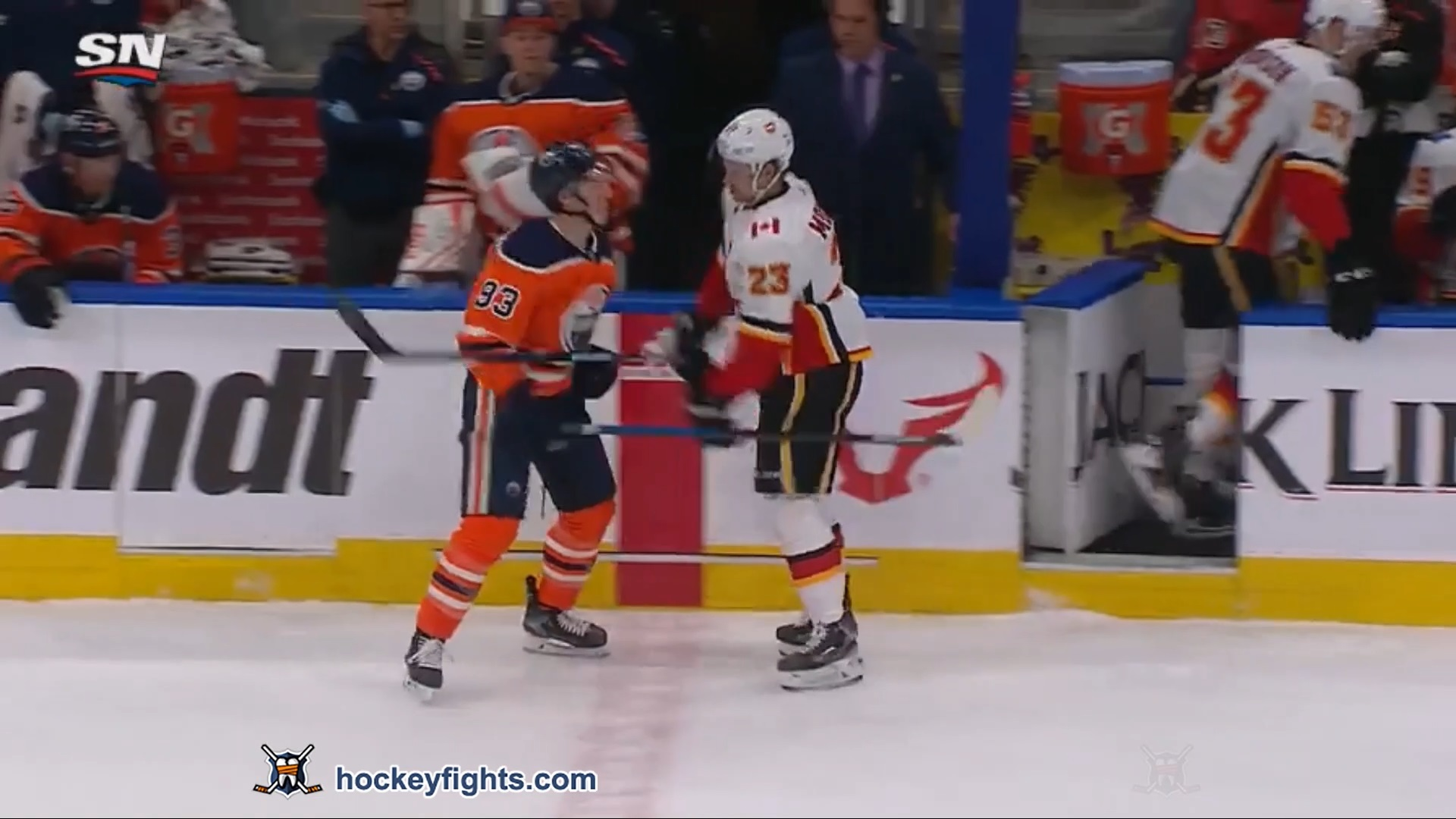 Ryan Nugent-Hopkins vs. Sean Monahan