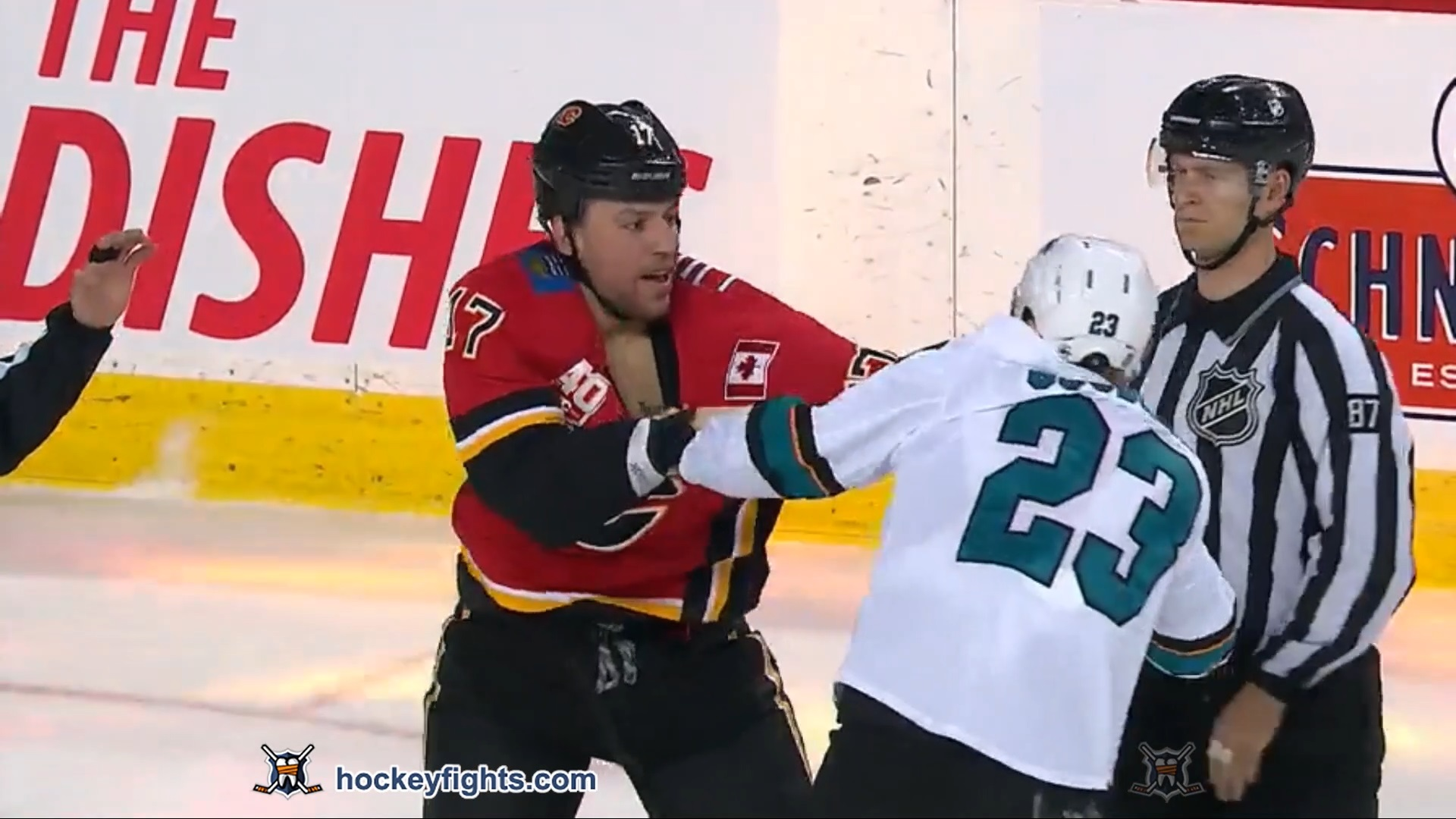 Milan Lucic vs. Barclay Goodrow
