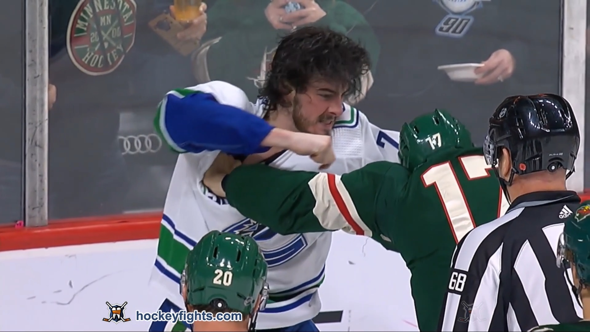 Marcus Foligno vs. Zack MacEwen