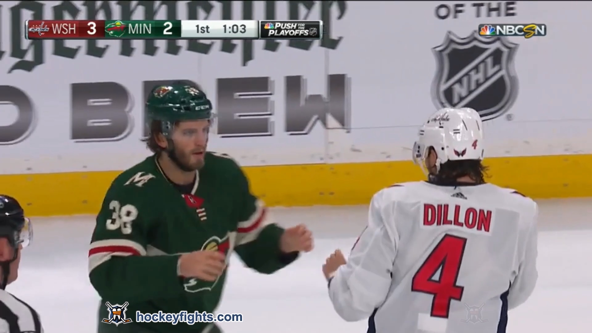 Ryan Hartman vs. Brenden Dillon