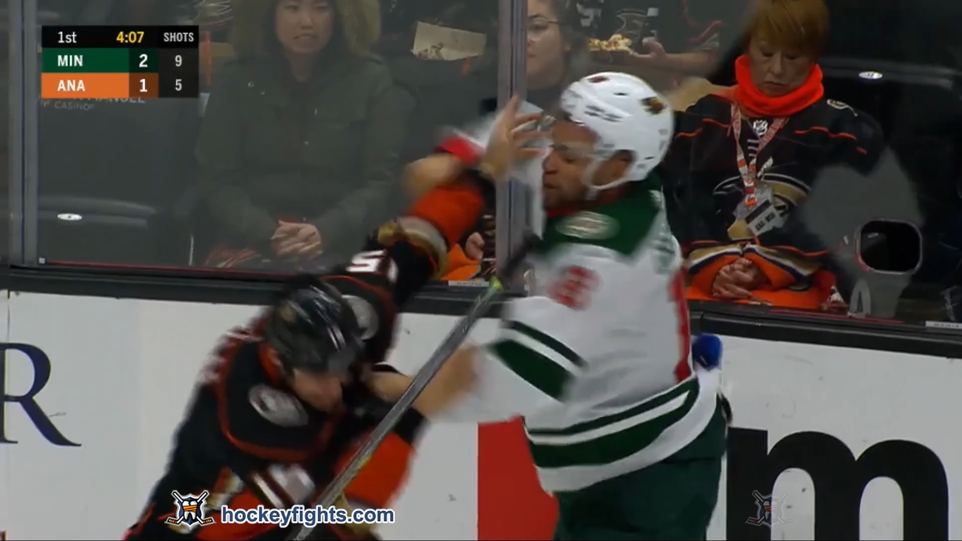 Ryan Getzlaf vs. Jordan Greenway