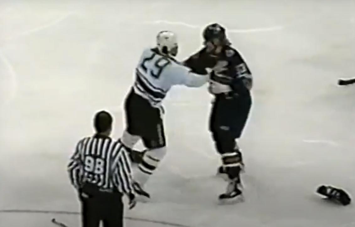 Grant Marshall vs. Marty McSorley
