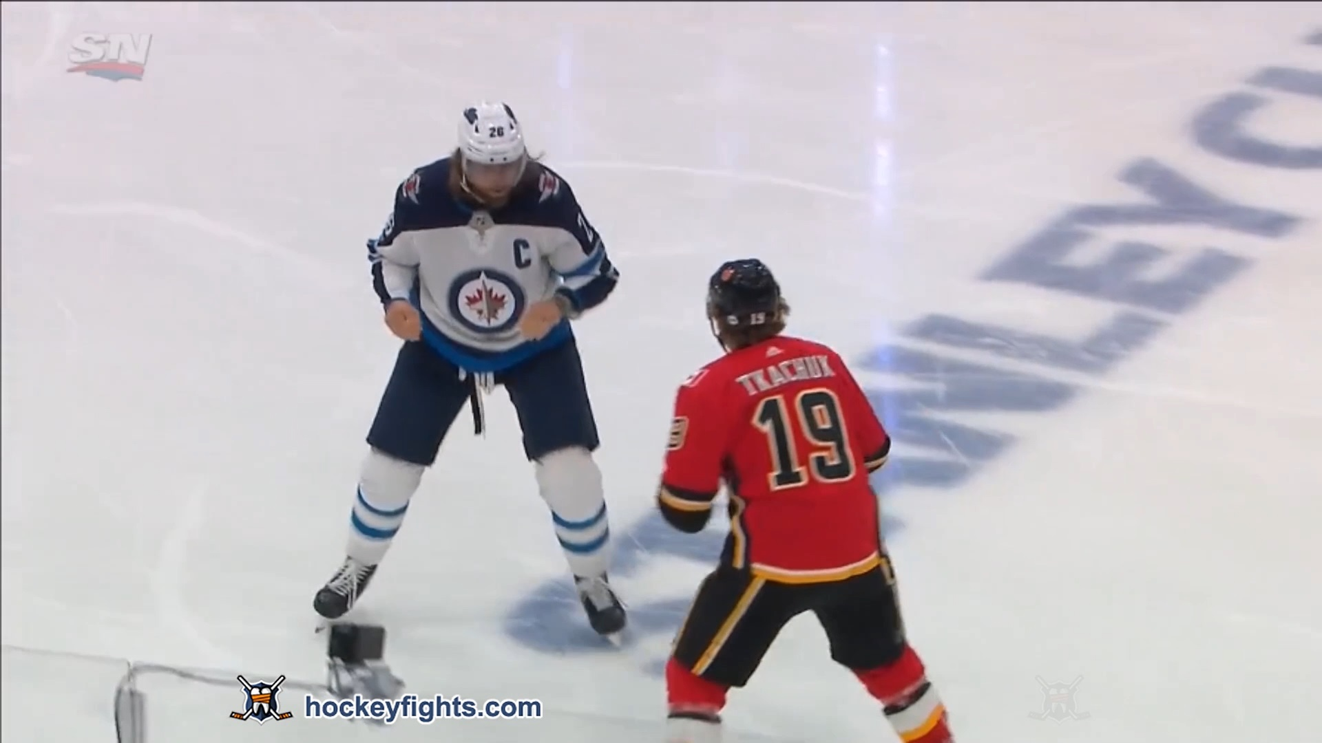 Blake Wheeler vs Matthew Tkachuk