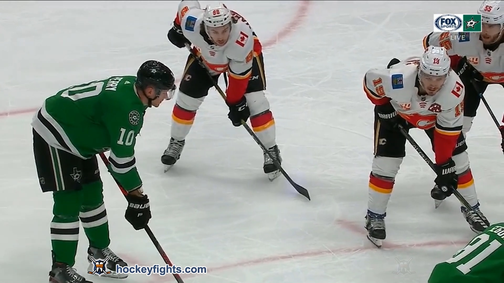 Corey Perry vs. Matthew Tkachuk