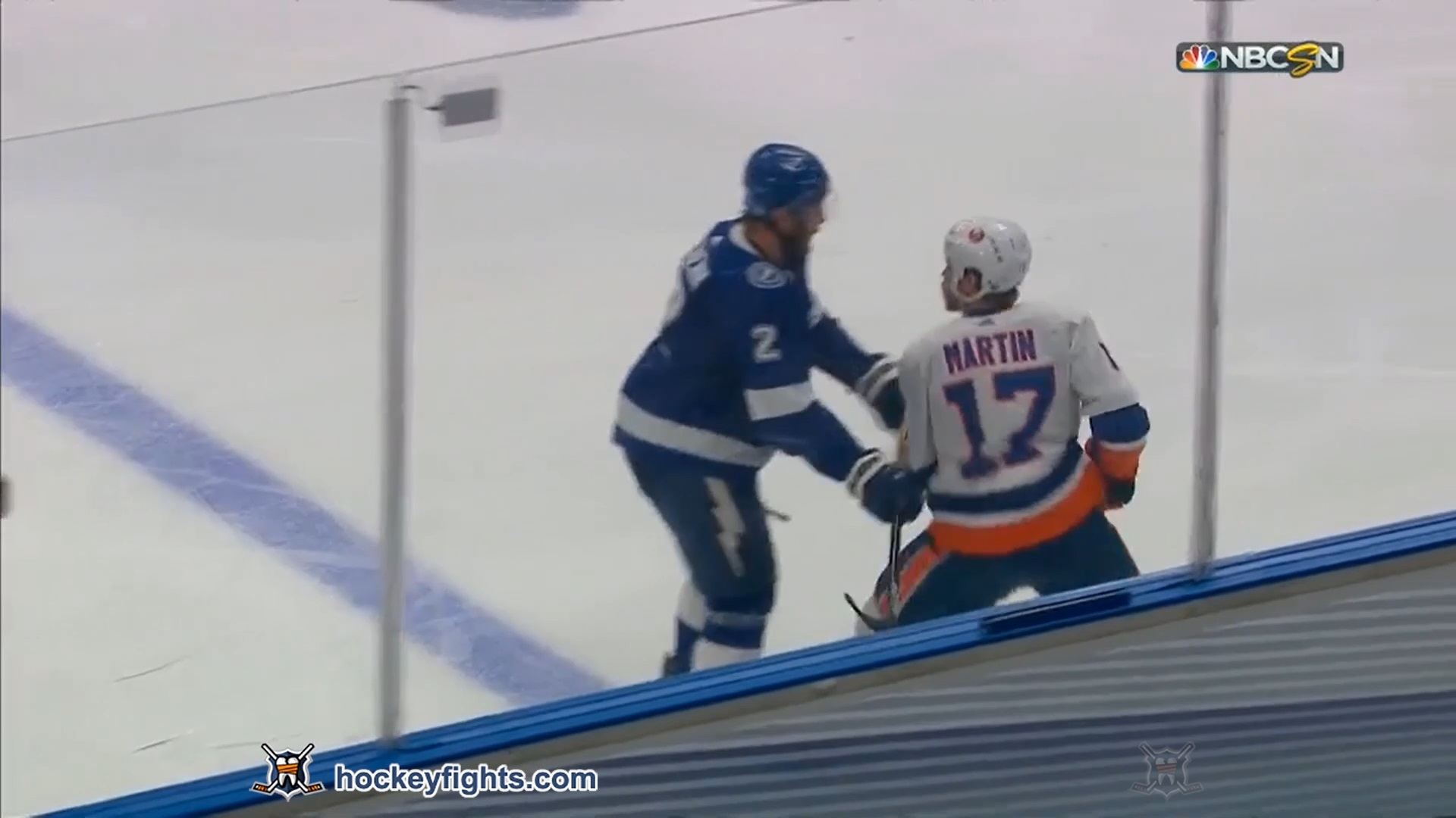 Luke Schenn vs. Matt Martin