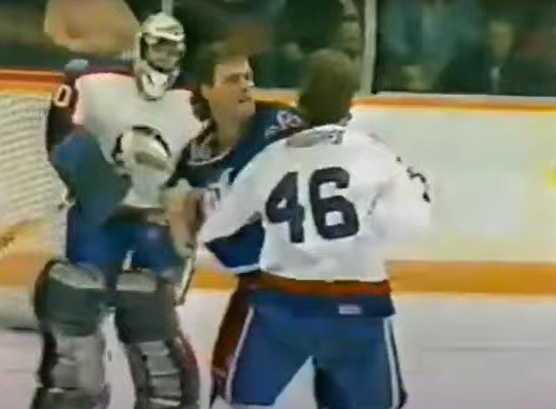 Brent Hughes vs. Randy Moller