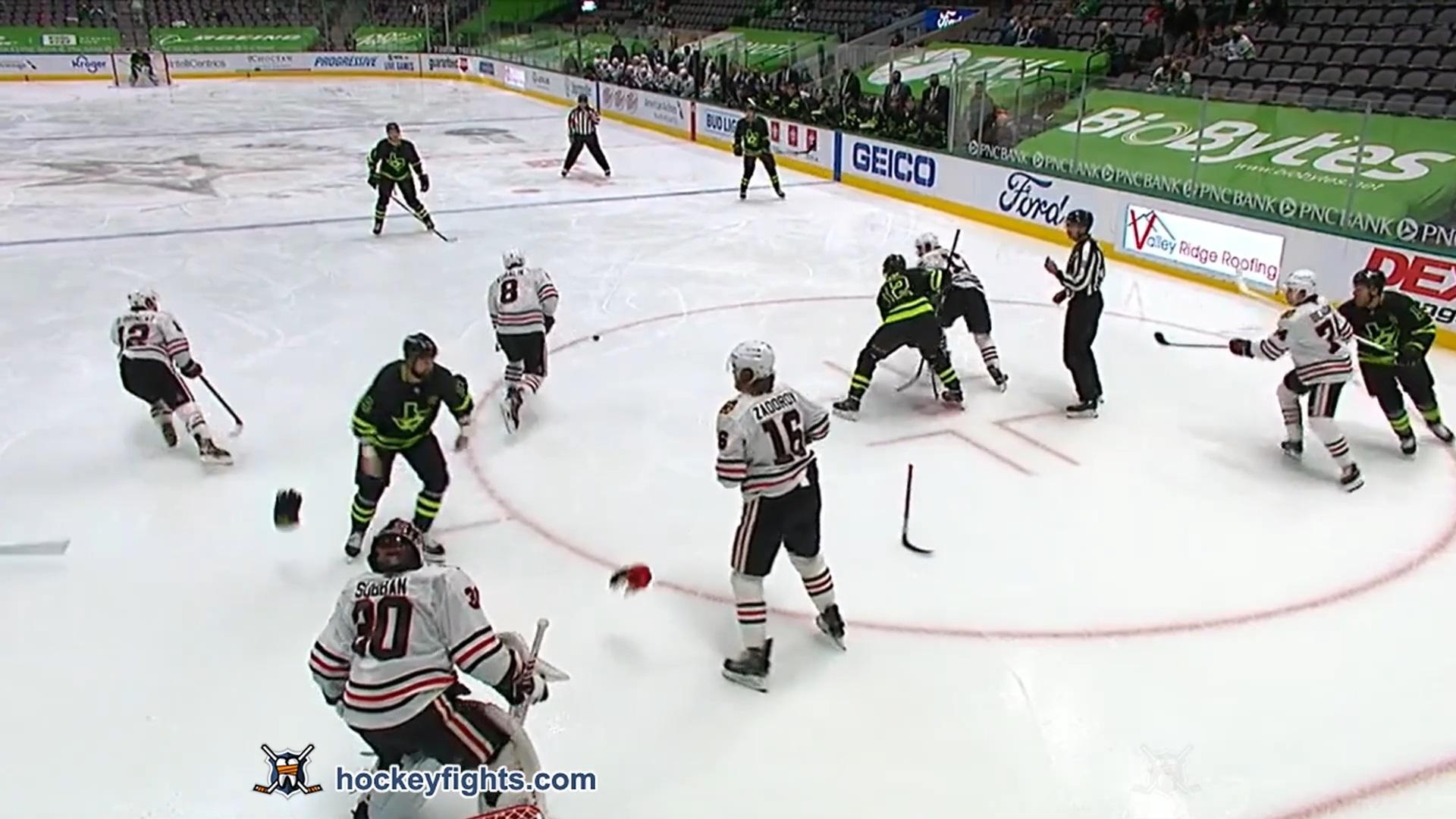 Jamie Benn vs. Nikita Zadorov