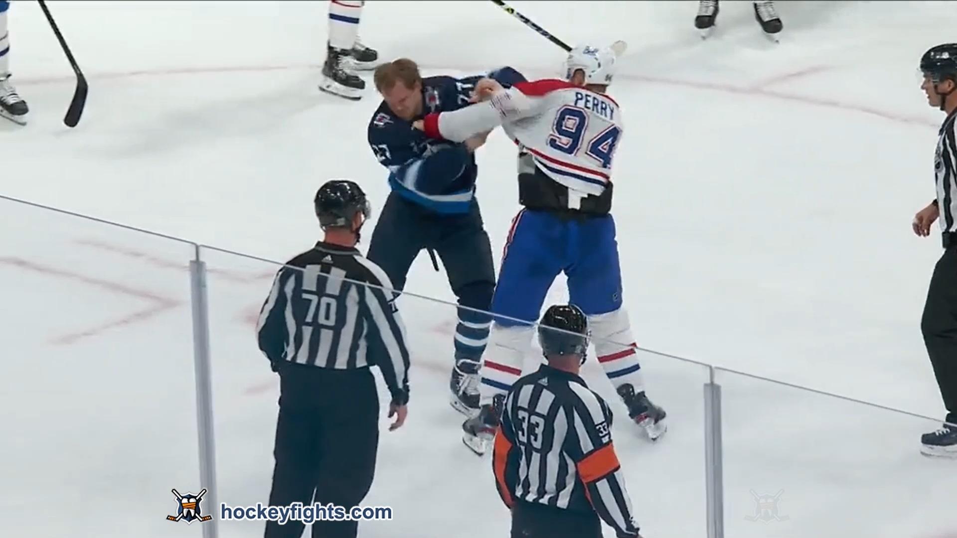Nikolaj Ehlers vs. Corey Perry