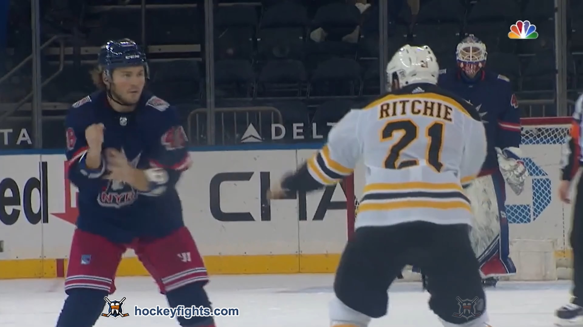 Brendan Lemieux vs. Nick Ritchie